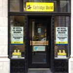 Cartridge World signs
