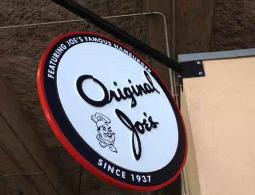 Hanging sign for Original Joe's at AT&T Ballpark (8 photos)