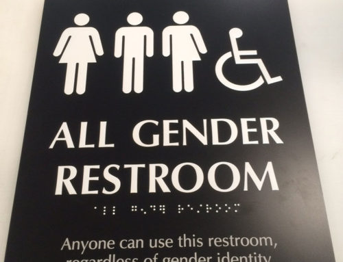 All Gender Restroom ADA Signs