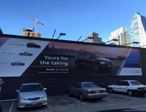 Lumina + Audi Banner