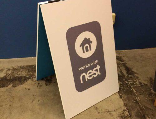 Nest A-frame