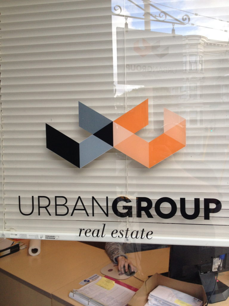 Print Cut window graphics San Francisco