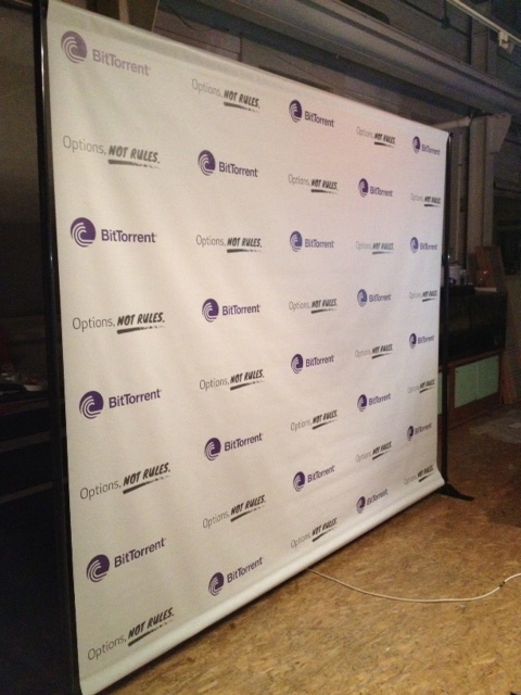 Step and Repeat Backdrop San Francisco
