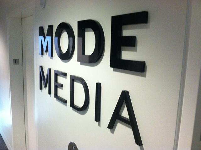 Mode Media 3D letters