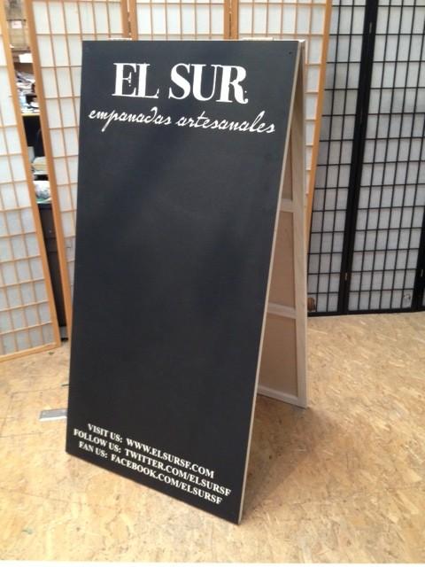 Chalkboard a-frame large