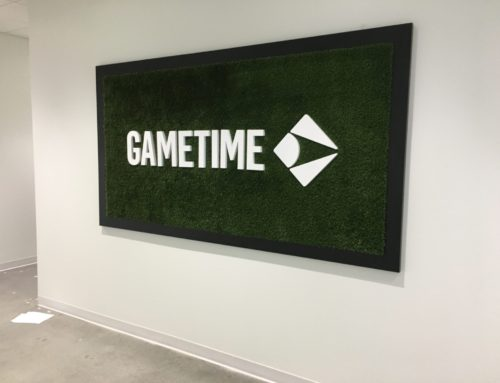 It's Go Time for a Gametime Sign