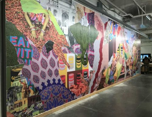 Facebook Mural Project: Not a Gluten-Free Solution, But Beautiful