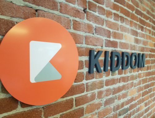 KIDDOM 3D LETTERS