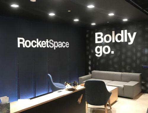 Rocketspace 3D Letters