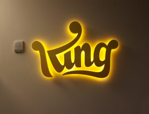 King Halo Lit Channel Letters
