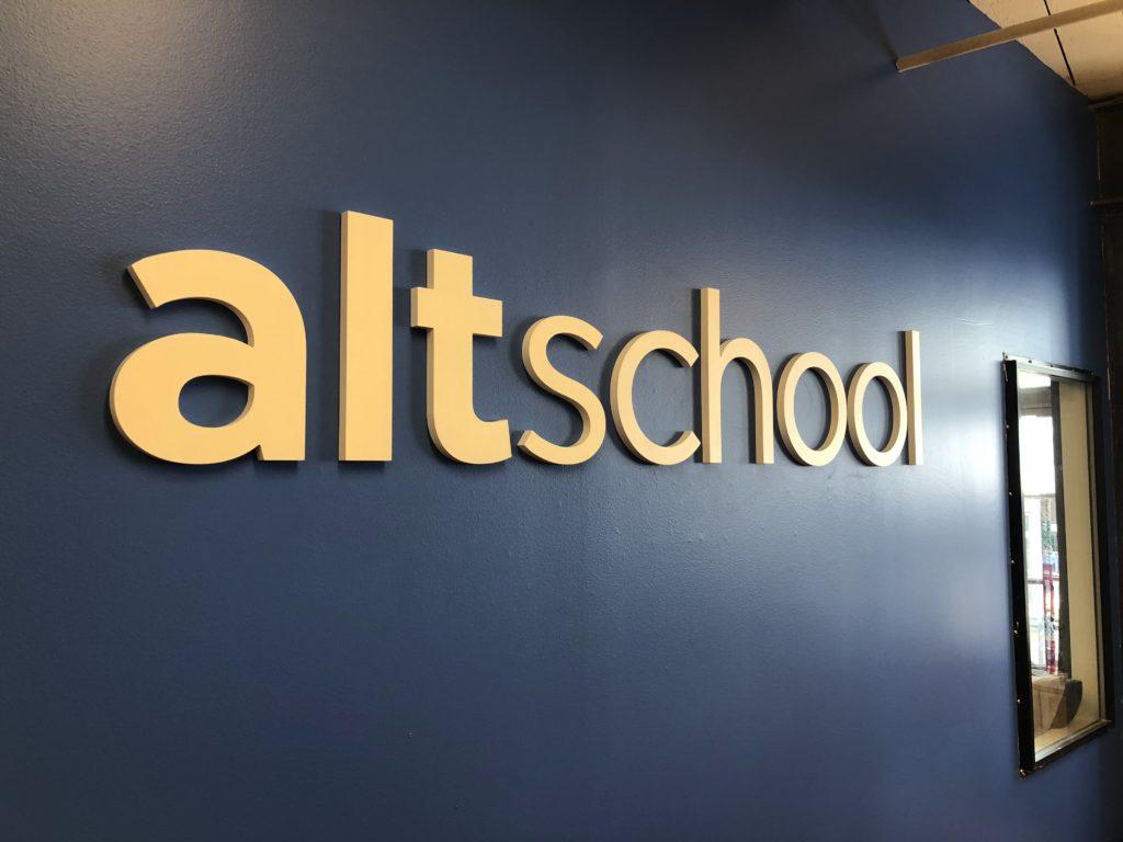 Alt School Acrylic Letters
