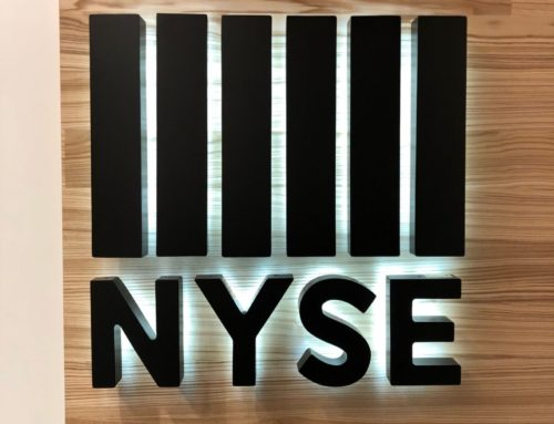 NYSE – Halo Lit Channel Letters