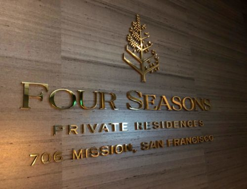 Four Seasons Brass 3D Letters